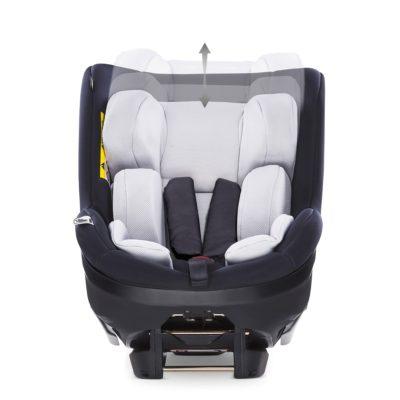 Hauck iPro Kids iSize Car Seat - Caviar 4