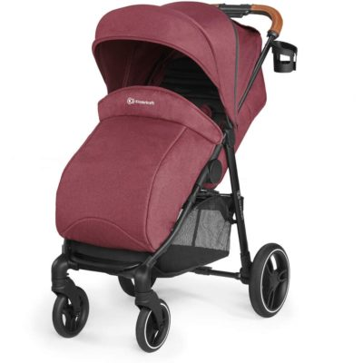Kinderkraft Grande 2020 Pushchair - Burgundy 2