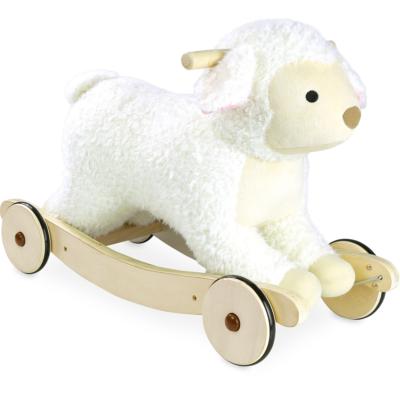 VILAC 2 IN 1 PLUSH ROCKING SHEEP