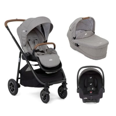 Joie Versatrax Travel System - Grey Flannel