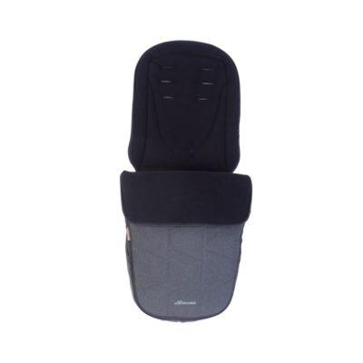 Micralite ProFold Footmuff - Carbon