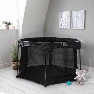 Tutti Bambini Hexa Playpen - Black