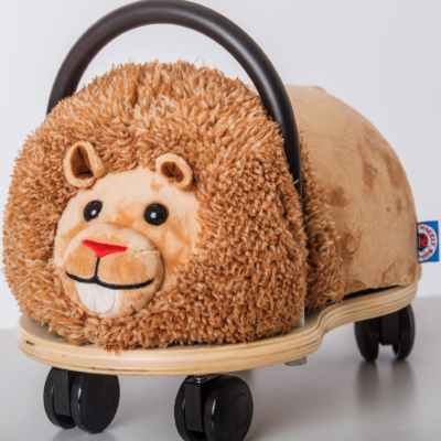 wheely bug plush lion
