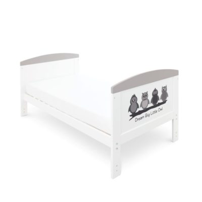 Babyhoot Style Cot Bed Dream Big Little Owl