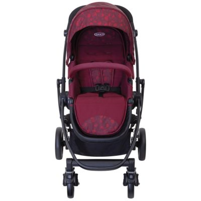 Graco Evo Stand Alone Stroller – Red Leopard