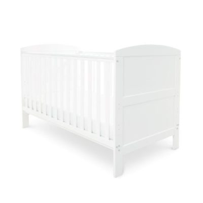 babyhoot coleby cot bed white