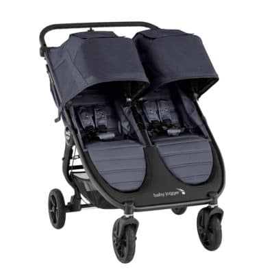 Baby Jogger City Mini GT2 Double Pushchair - Carbon