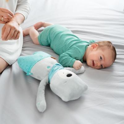 Myhummy Daddy Bear with Bluetooth Sensory Heart - Leon