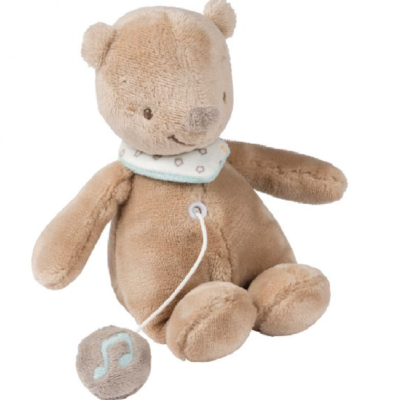 NATTOU MINI MUSICAL TOY BASILE THE BEAR