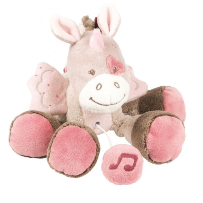NATTOU MINI MUSICAL TOY JADE THE UNICORN