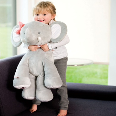 Nattou Large Cuddly Gift Set – Adele the Elephant