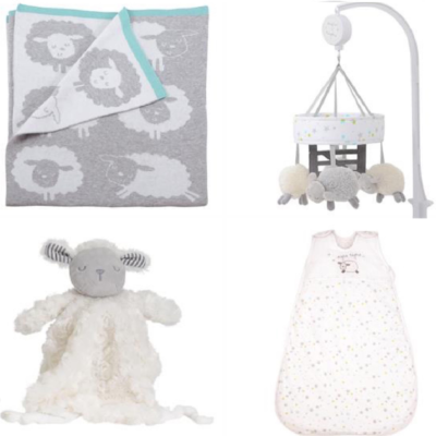 Silvercloud Counting Sheep Sleep Gift Set