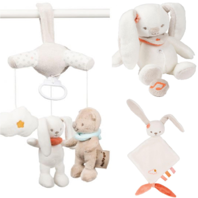 Nattou Mini Musical Gift Set - Mia The Bunny