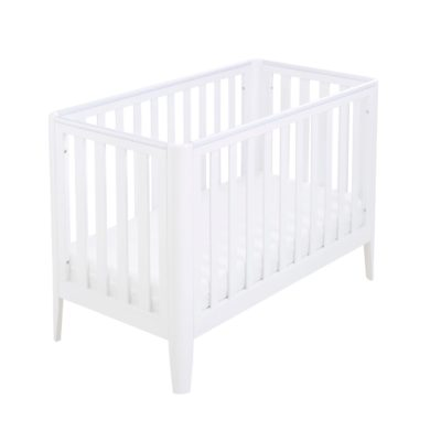 Babymore Iris Cot Bed - White