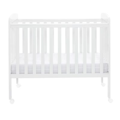 Babymore Space Saver Cot - White