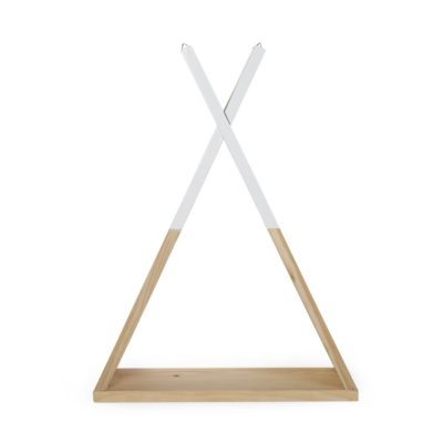 Childhome Teepee Wall Shelf - Natural/White