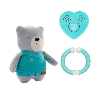 myHummy Baby Bear with Bluetooth Sensory Heart - Lily