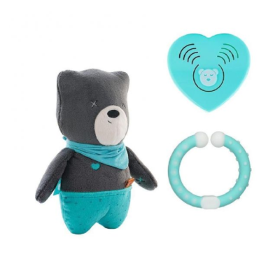 myHummy Baby Bear with Bluetooth Sensory Heart - Matt