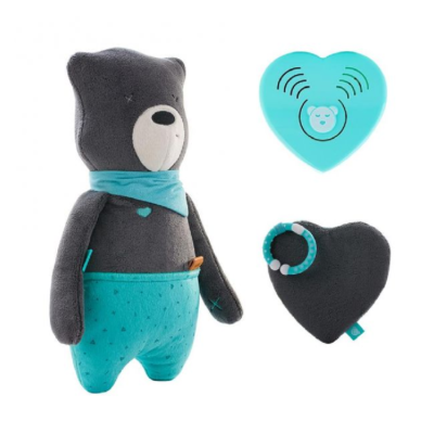 myHummy Daddy Bear with Sleep Sensory Heart - Max