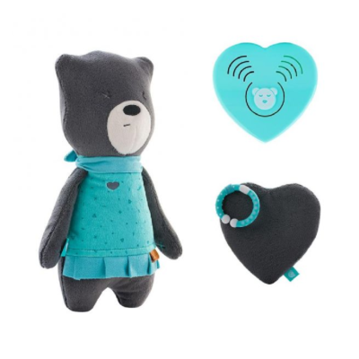myHummy Mummy Bear with Sleep Sensory Heart - Mia