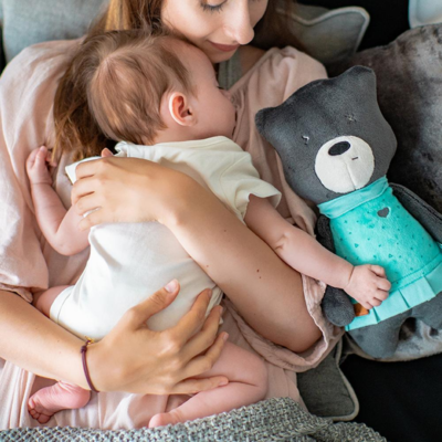 myHummy Mummy Bear with Bluetooth Sensory Heart - Mia
