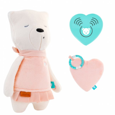 myHummy Mummy Bear with Sleep Sensory Heart - Sophie