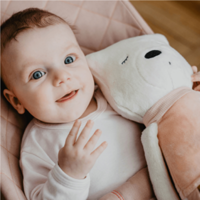 myHummy Mummy Bear with Bluetooth Sensory Heart - Sophie