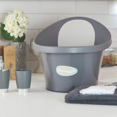 Shnuggle Baby Bath - Slate Grey