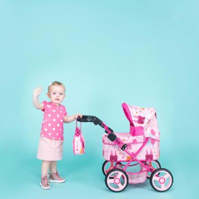 Unicorn Land Cabi Dolls Pram
