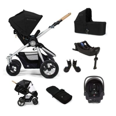 Bumbleride Era i-Size Isofix Travel System Bundle - Silver/Black