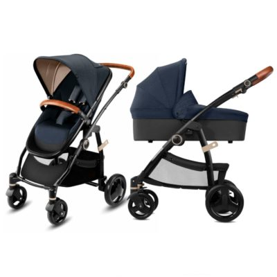 CBX Leotie Lux Pushchair and Carrycot - Jeansy Blue