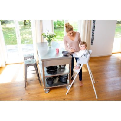 CBX Luyu XL Highchair - Snowy White