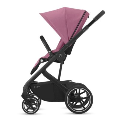 Cybex Balios S Lux Pushchair - Magnolia Pink and Black