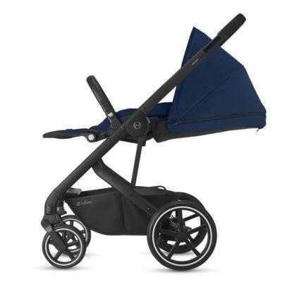 Cybex Balios S Lux Pushchair - Navy Blue & Black