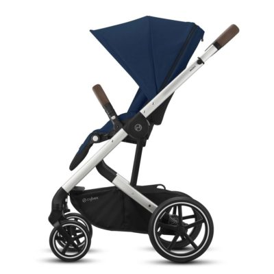 Cybex Balios S Lux Pushchair - Navy Blue and Silver