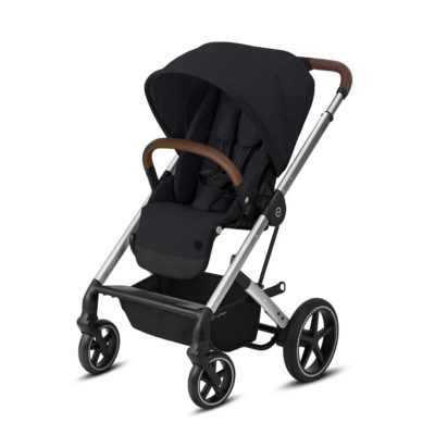 Cybex Balios S Lux Pushchair - Deep Black and Silver