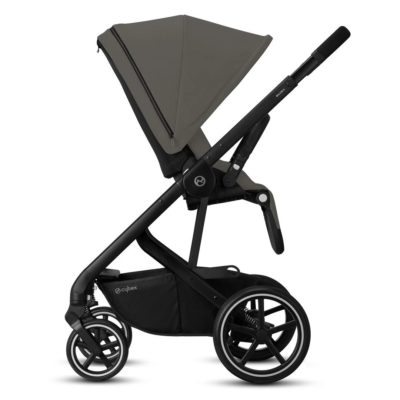 Cybex Balios S Lux Pushchair - Soho Grey and Black
