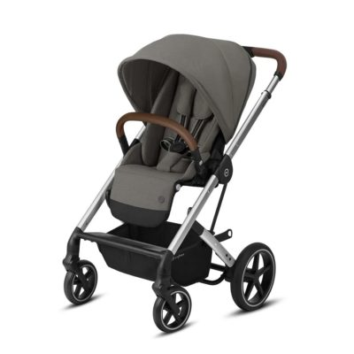 Cybex Balios S Lux Pushchair - Soho Grey and Silver