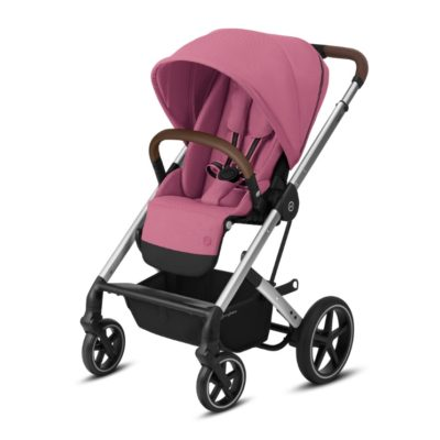 Cybex Balios S Lux Pushchair - Magnolia Pink and Silver