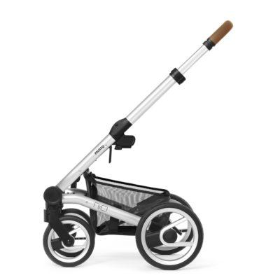 mutsy-nio-stroller-frame-silver cognac grip 1000