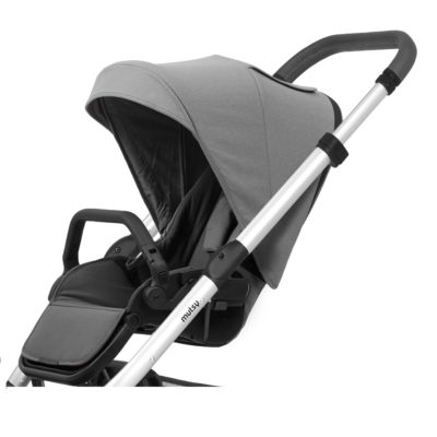 mutsy nio stroller seat unit journey ice grey