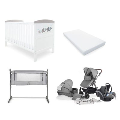 Newborn Starter Bundle - Grey
