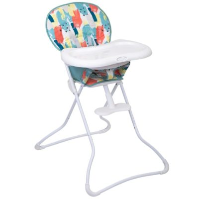 Graco Snack N Stow Highchair Paintbox