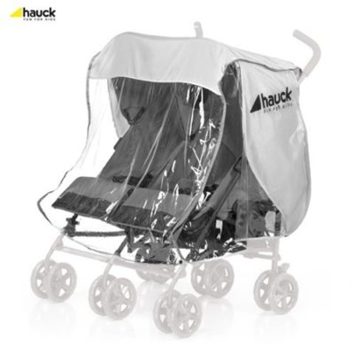 Hauck Double Pushchair Raincover