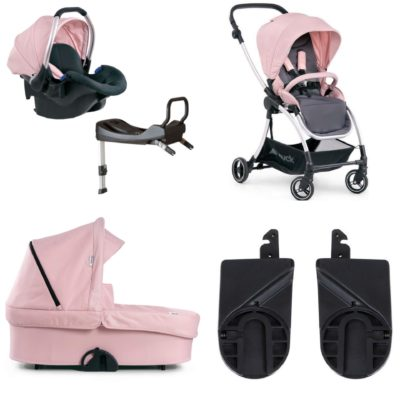 Hauck Eagle 4s Pink Shop N Drive Package