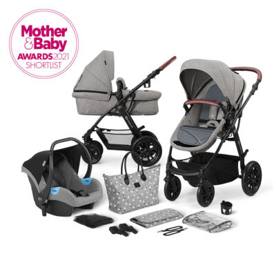 Kinderkraft XMoov Grey Travel System