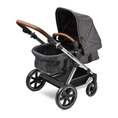 ABC Design Migno Doll Pram - Asphalt