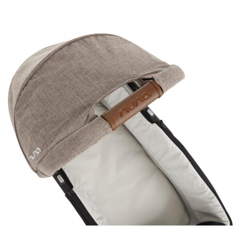 nuna triv carrycot handle mocha