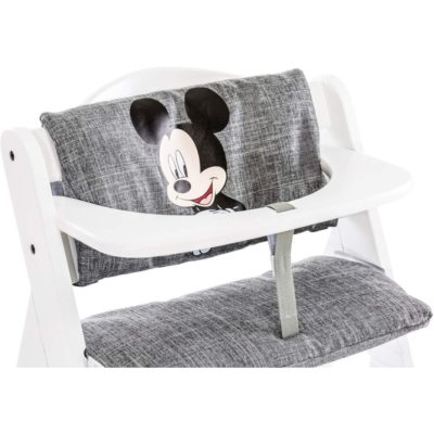Hauck Alpha Mickey grey Highchair Pad