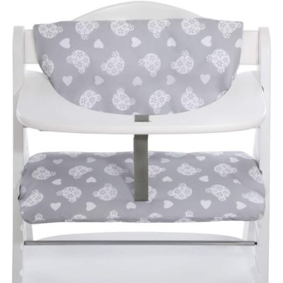 Hauck Alpha Teddy Grey Highchair Pad